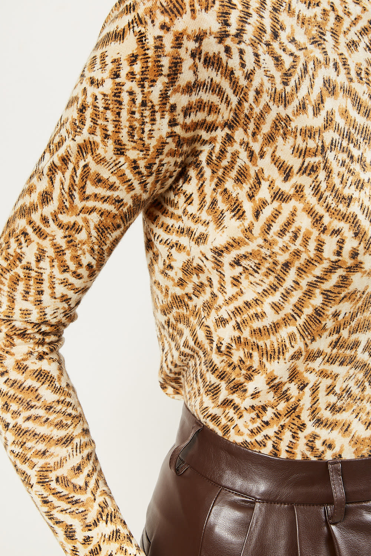 Forte Forte - Eagle print cashmere gauze sweater