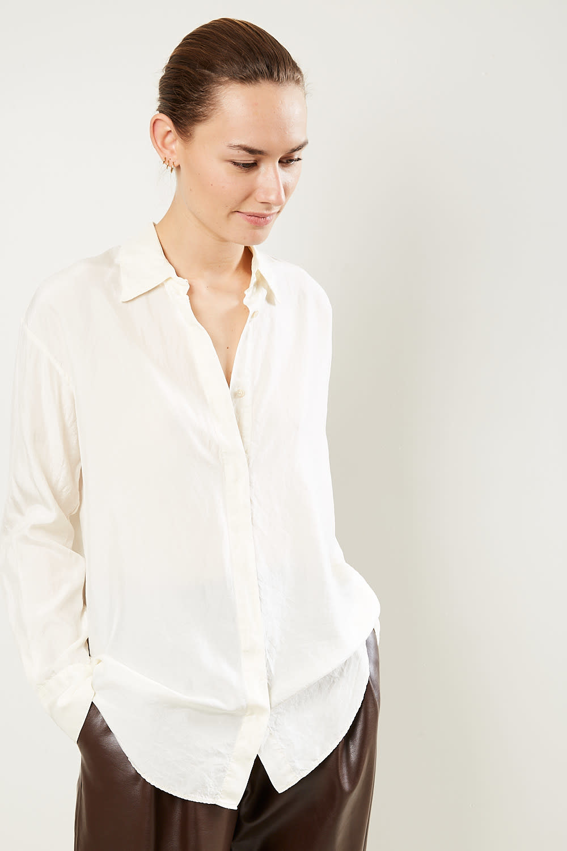 Forte Forte Heavy habotai silk shirt