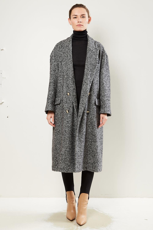 Etoile Isabel Marant Ojima heringbone wool coat