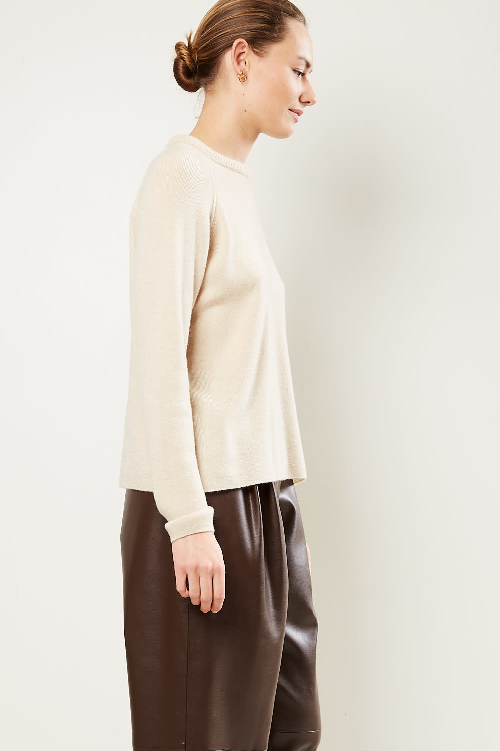 Forte Forte - Ribbed cashmere wool sweater