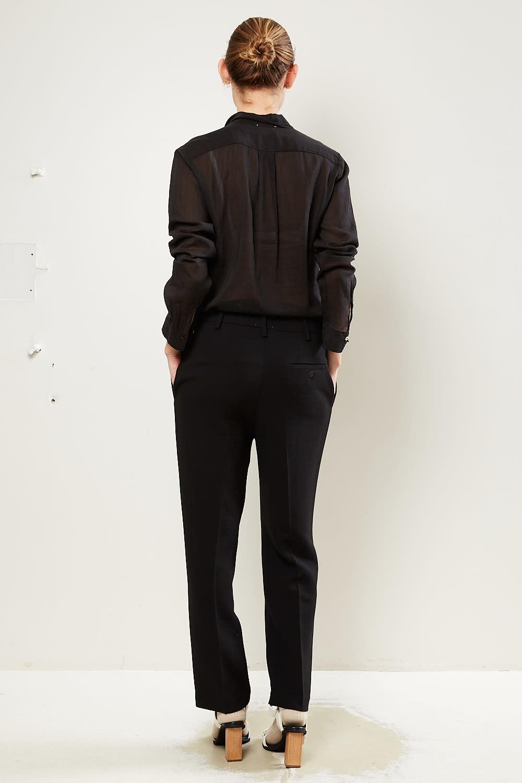 Forte Forte - Wool viscose crepe pants