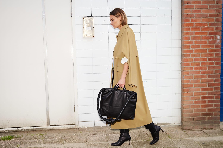 KASSL Bag Messenger Soft Leather
