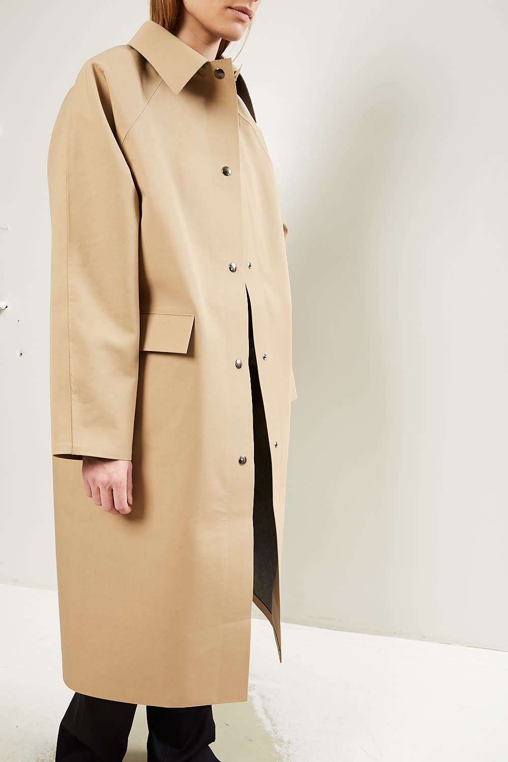 KASSL - Coat Original Below Wool Trench