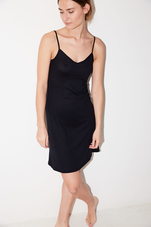 hanro - ultralight mercerized cotton body dress