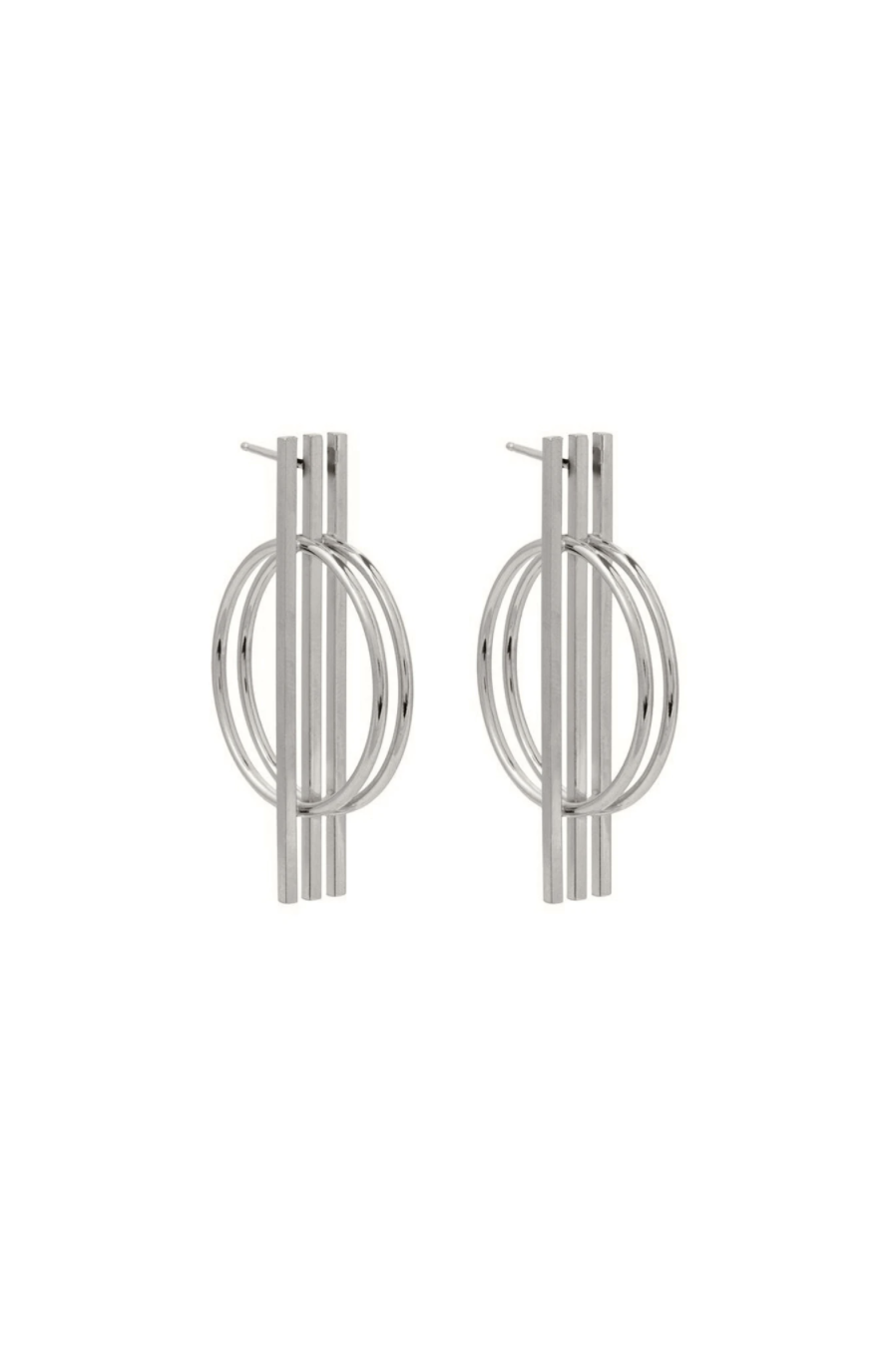 Studio Collect Graphic Statement Earrings