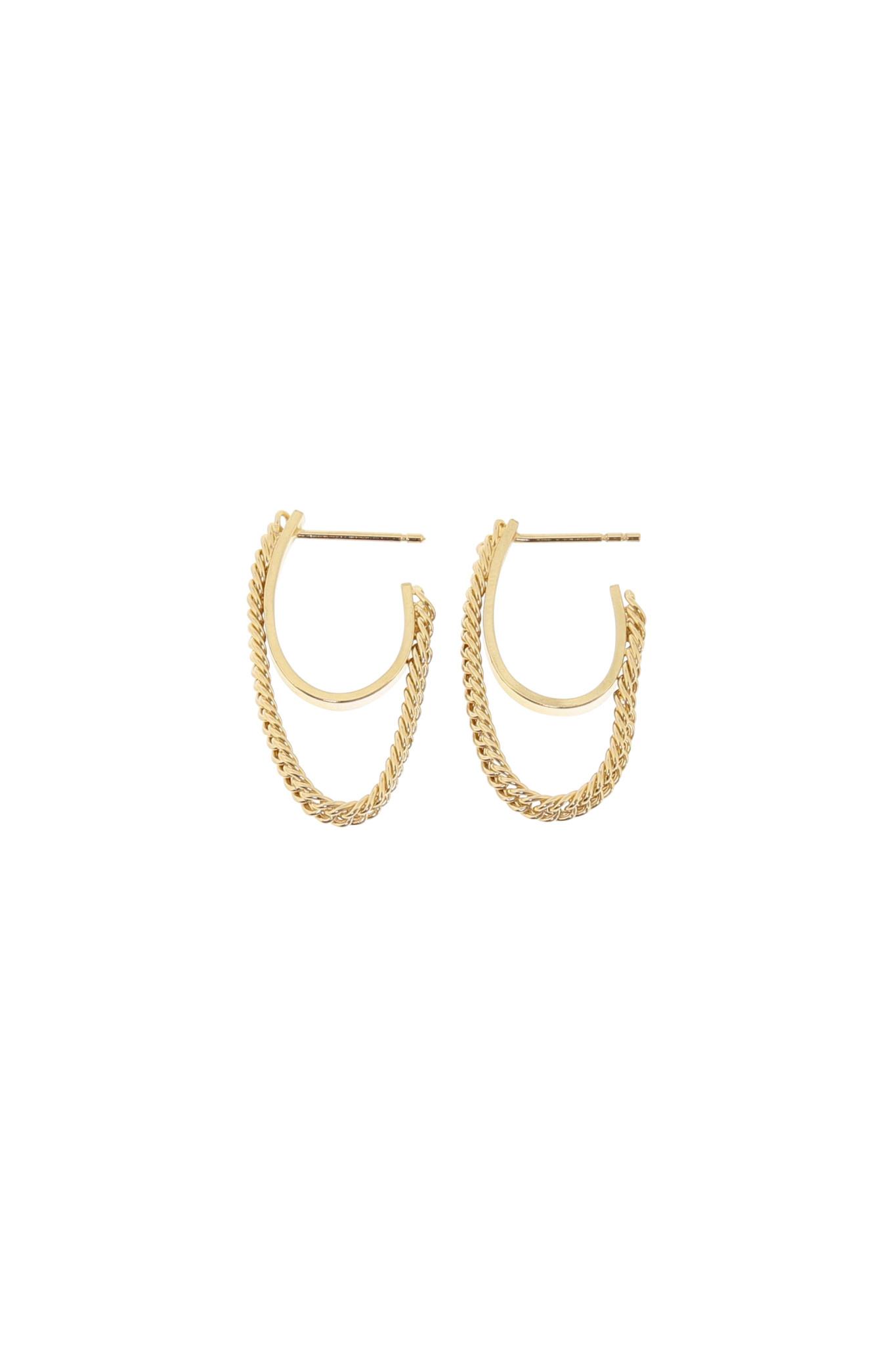 Studio Collect - Semi Flexible Hoop Earrings