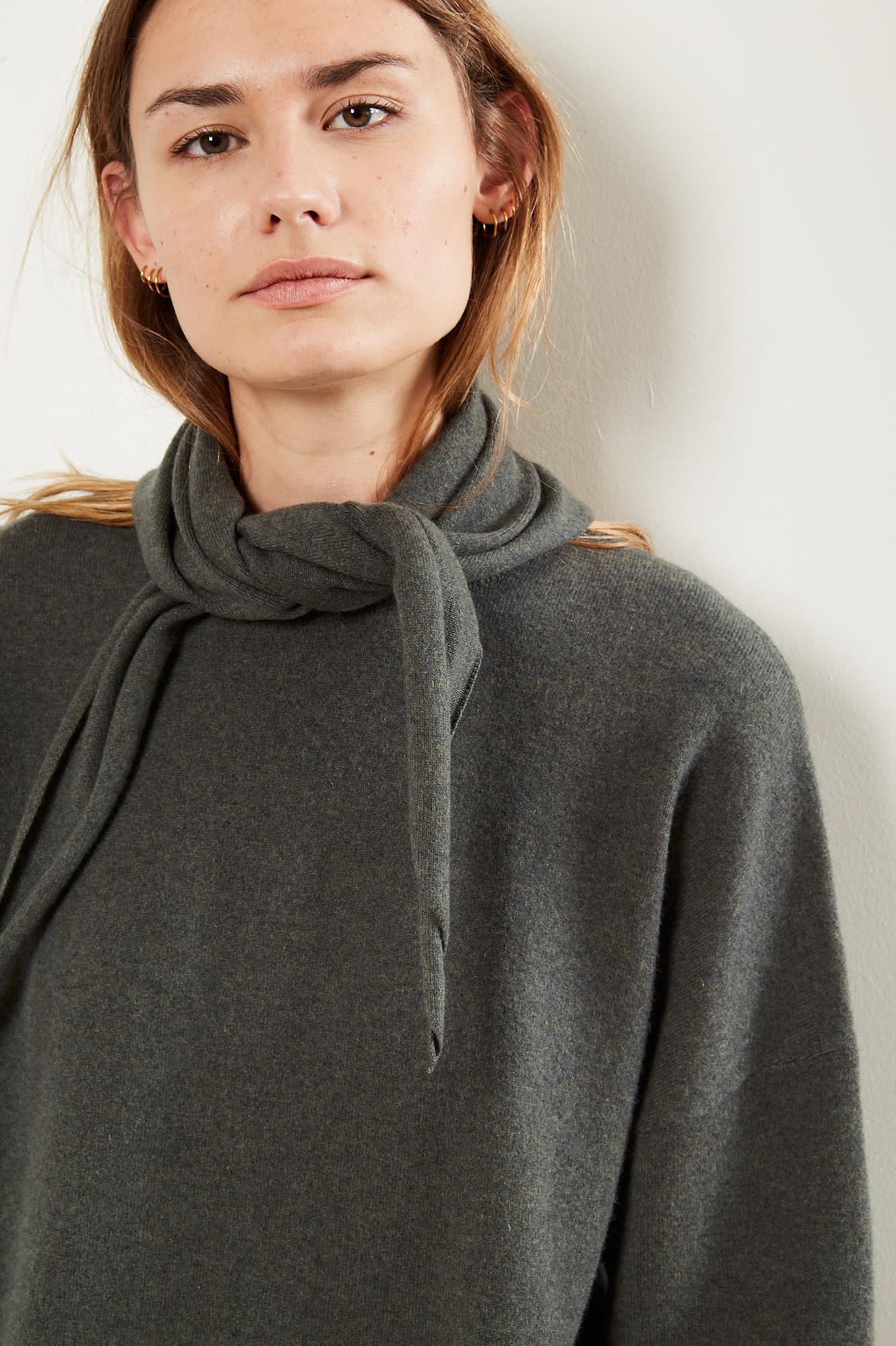 extreme cashmere No35 Bandana scarf