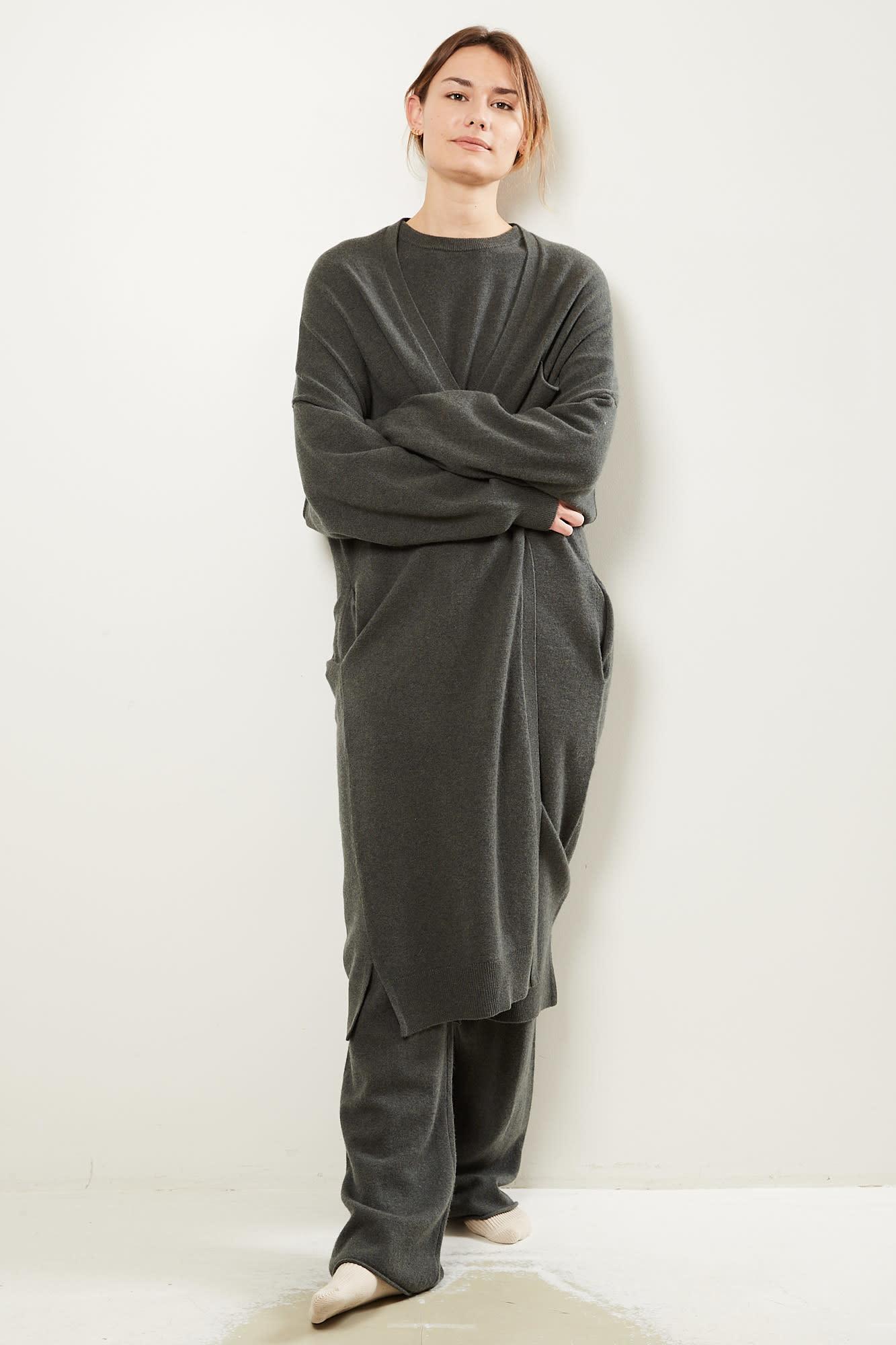extreme cashmere No61 Koto long version cardigan