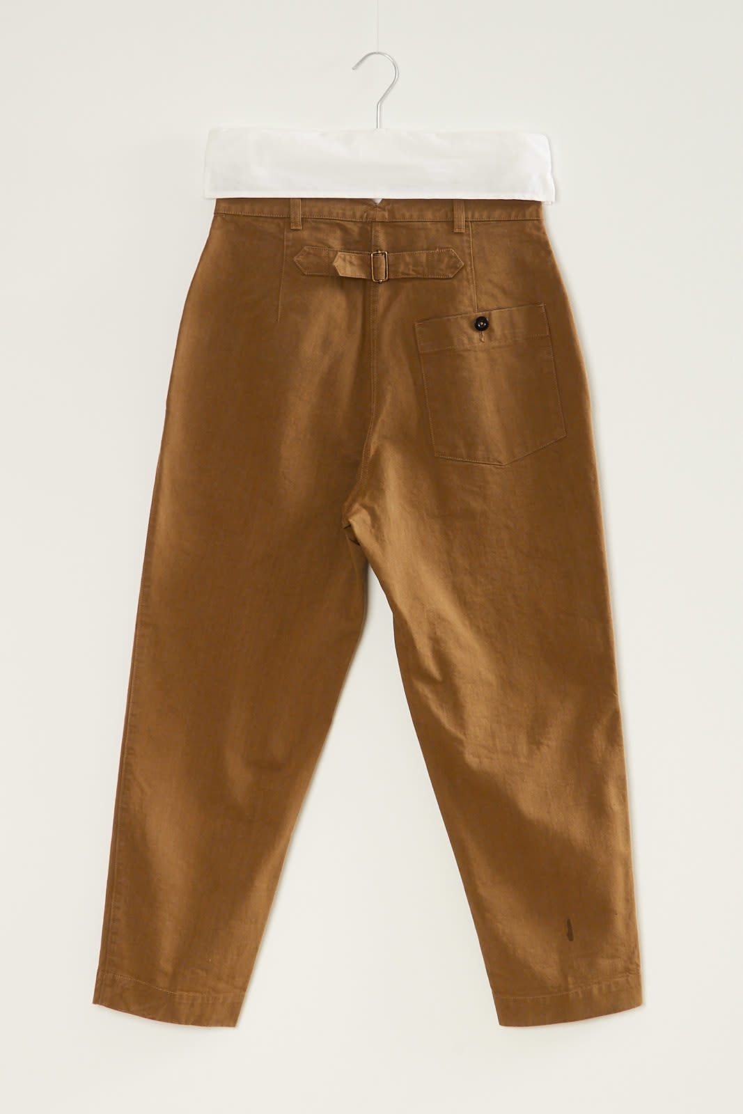 Margaret Howell - MHL clinched back tapered trousers