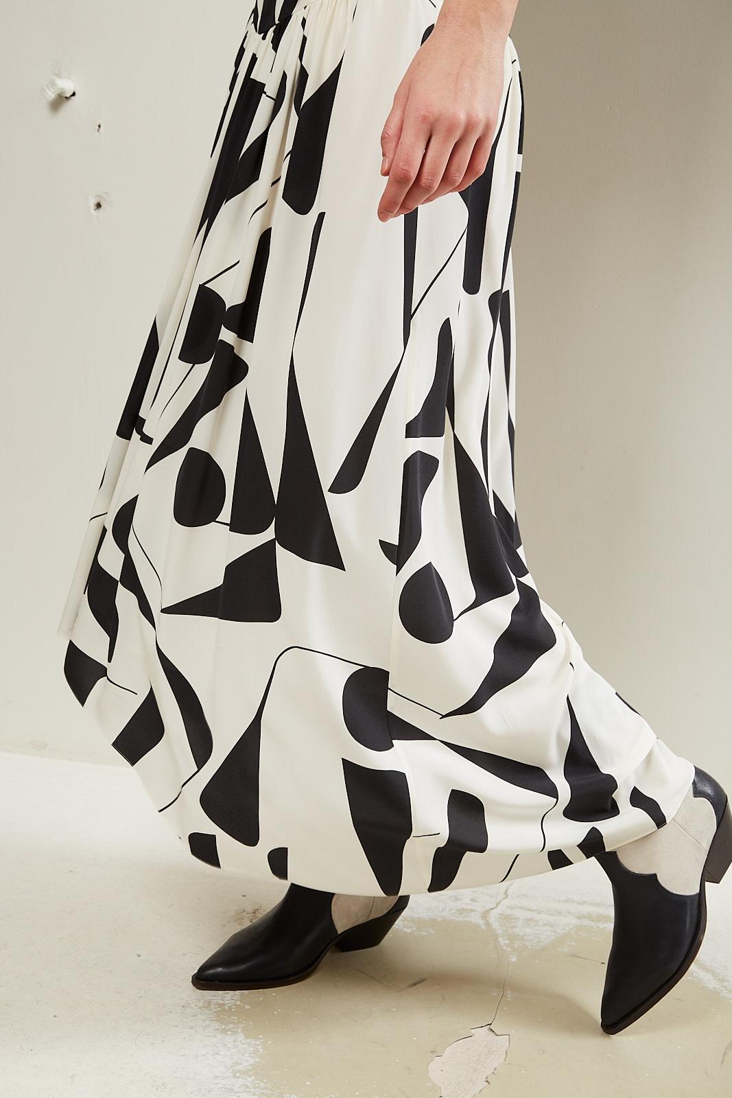 Isabel Marant - Afilao stretch silk skirt