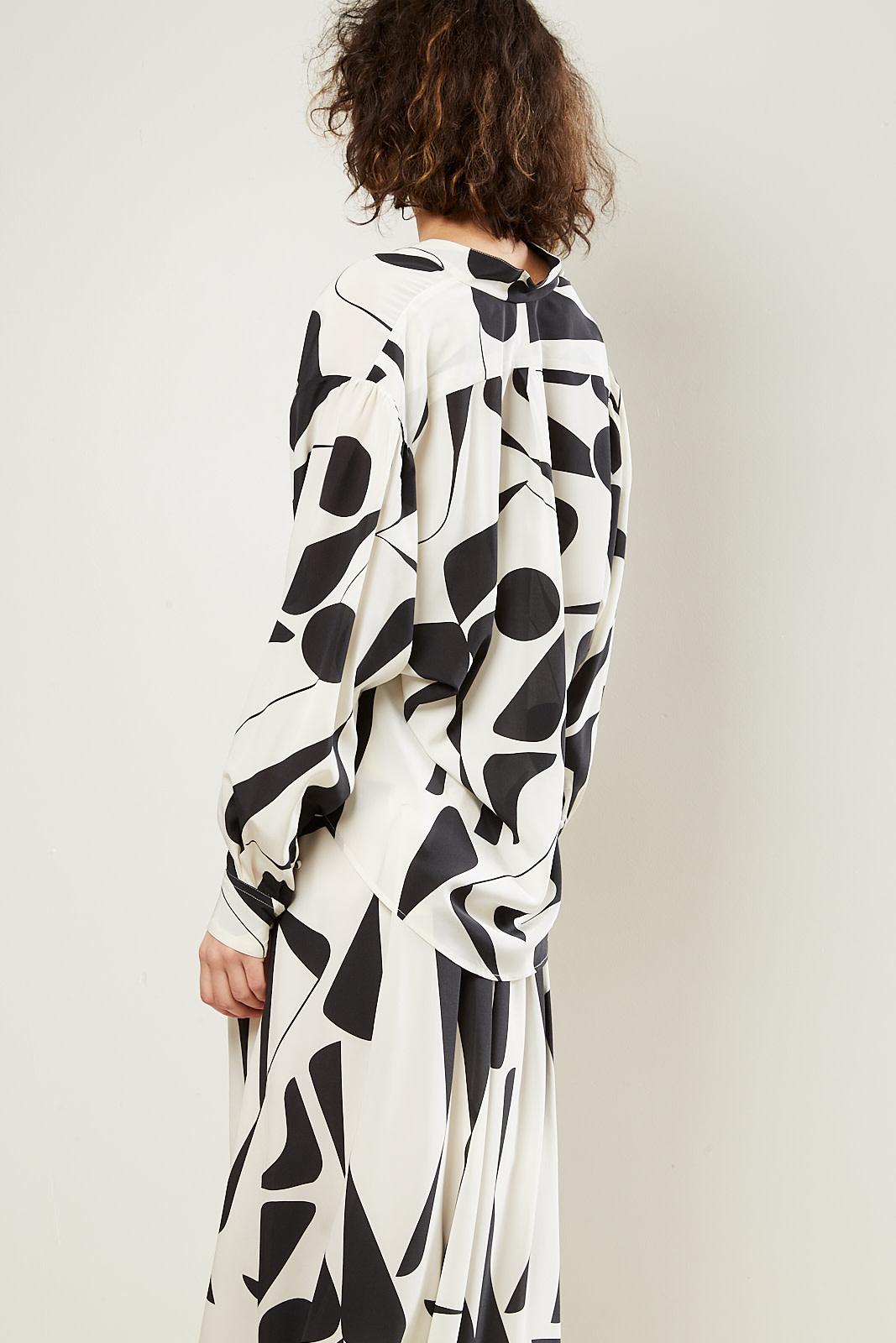 Isabel Marant - Cade stretch silk top