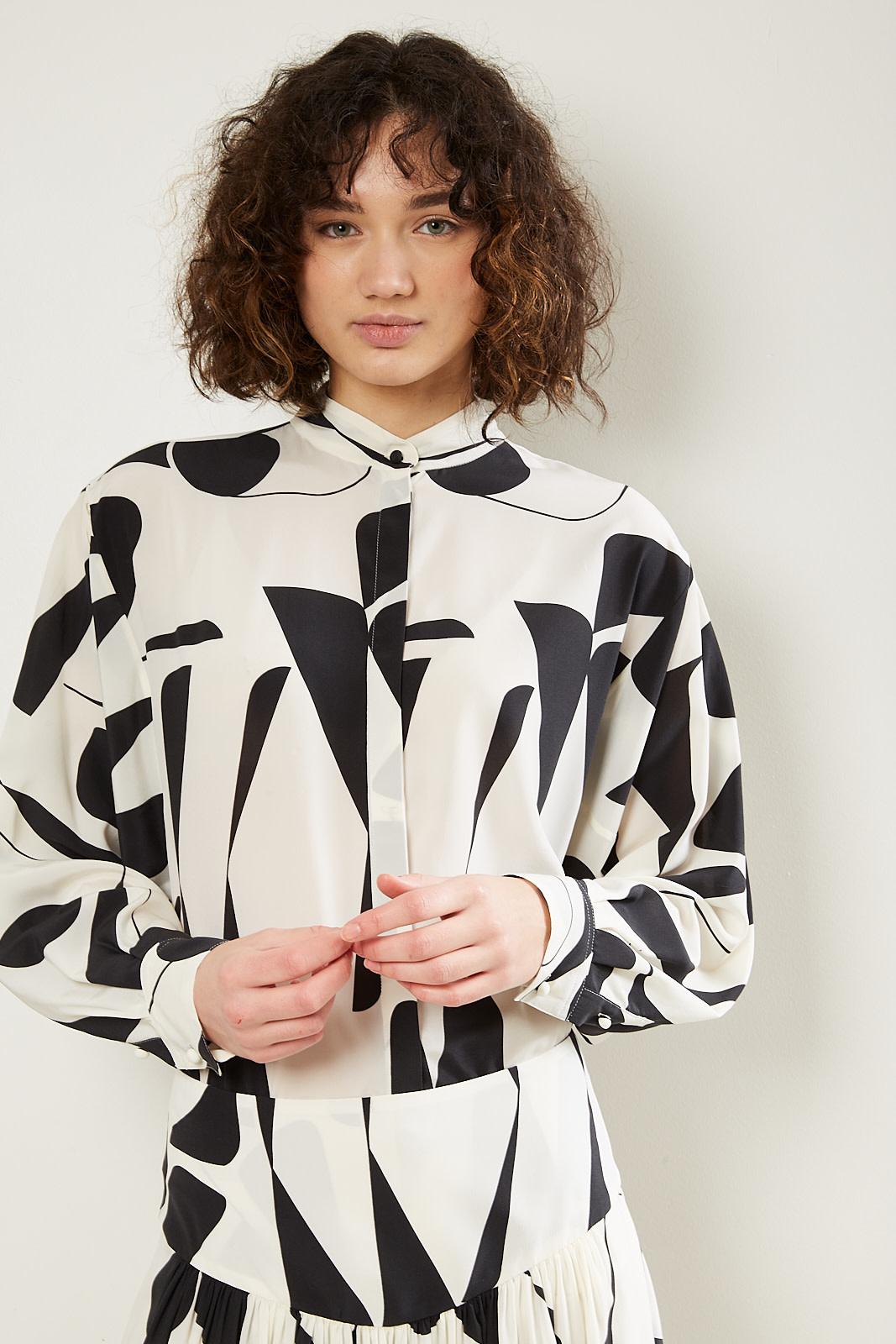 Isabel Marant Cade stretch silk top