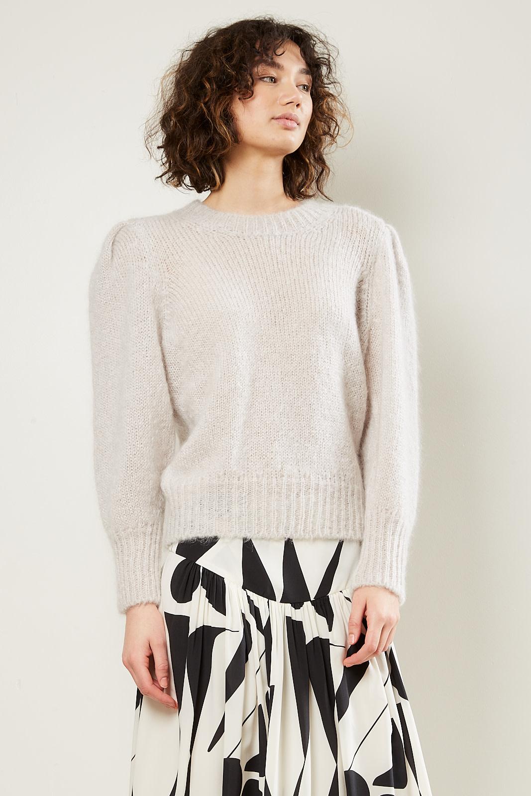 Isabel Marant Emma chunky light knit sweater