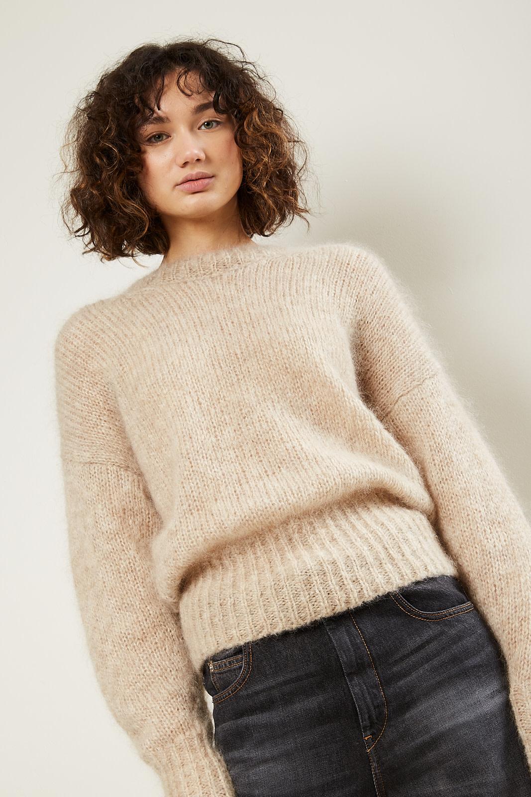Isabel Marant Estelle chunky light knit sweater