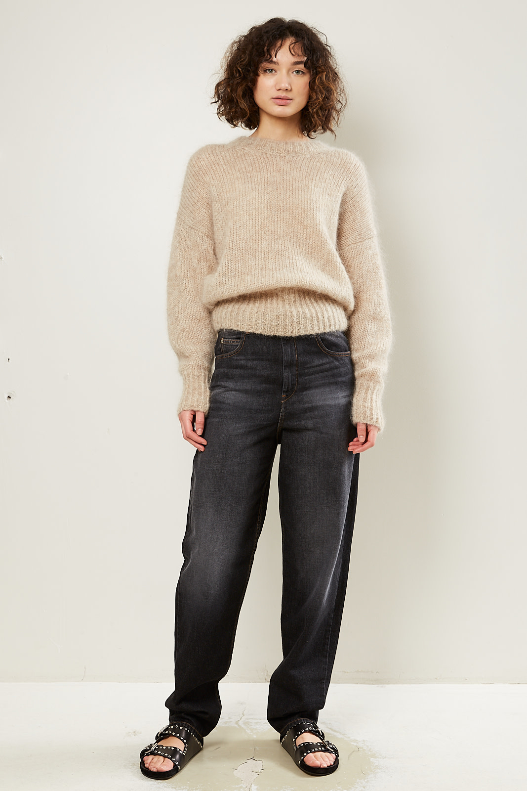 Isabel Marant - Estelle chunky light knit sweater
