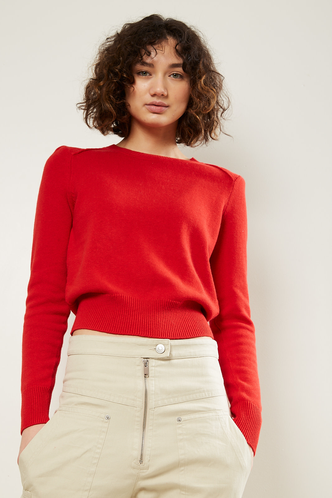Etoile Isabel Marant kleely regular knit sweater