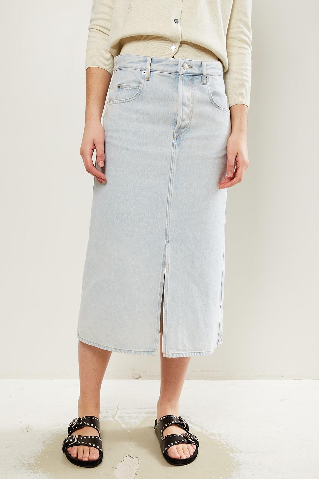 Etoile Isabel Marant Laurina jeans skirt