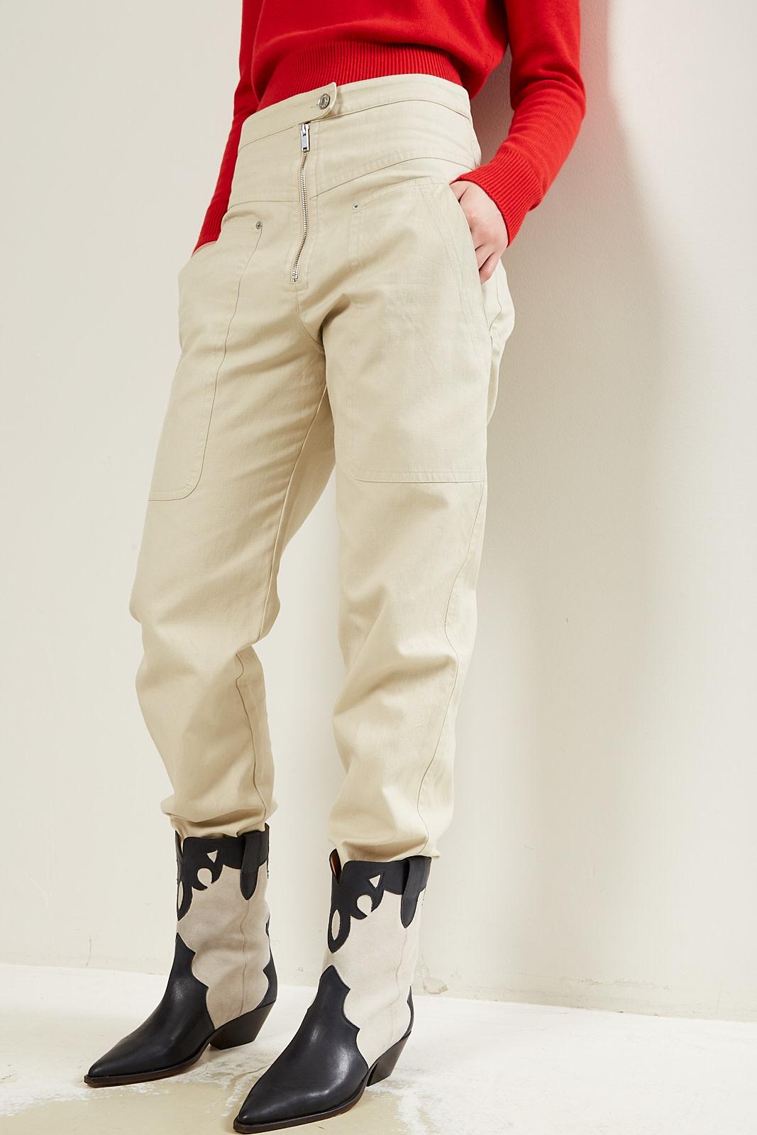 Etoile Isabel Marant Phil heavy cotton pants