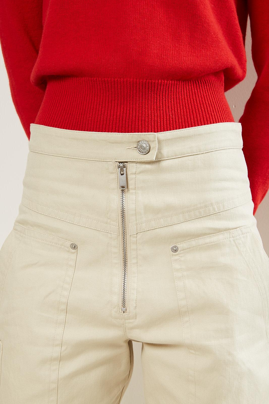 Etoile Isabel Marant - Phil heavy cotton pants