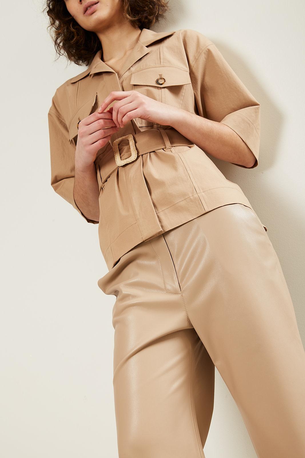 Nanushka Daino twill jacket