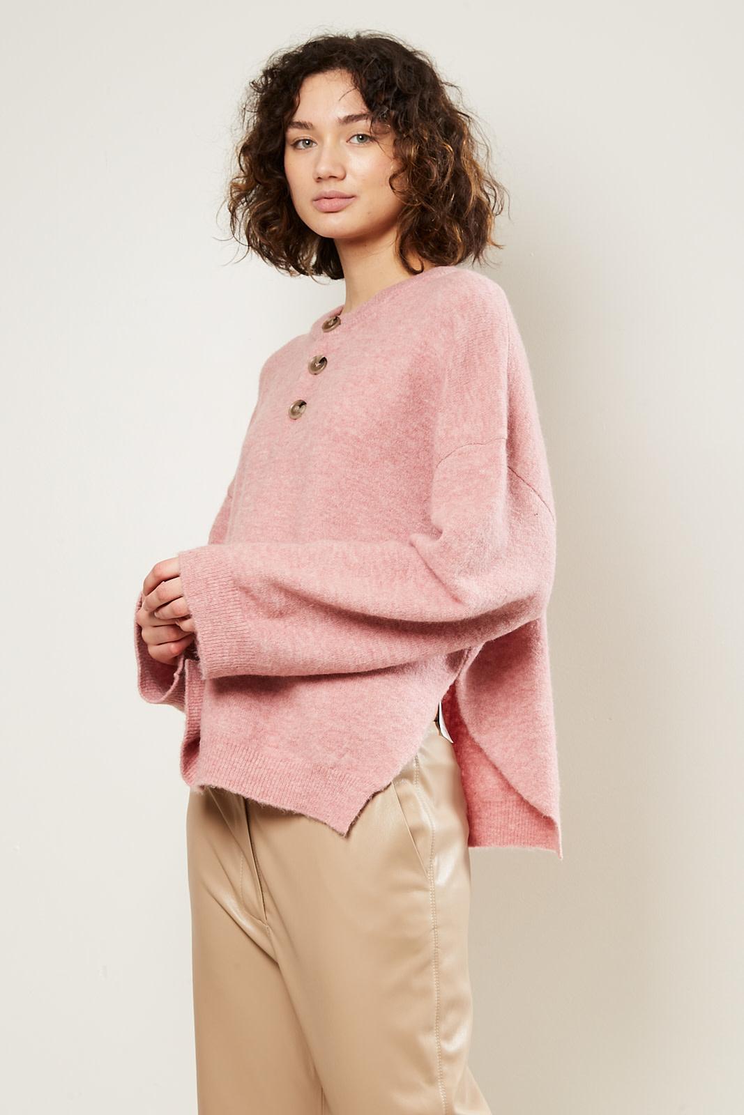 Nanushka - Lamee fluffy knit sweater