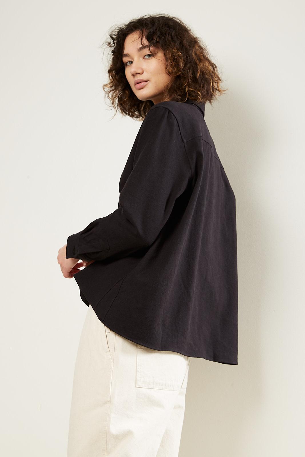 Margaret Howell - MHL collared swing shirt