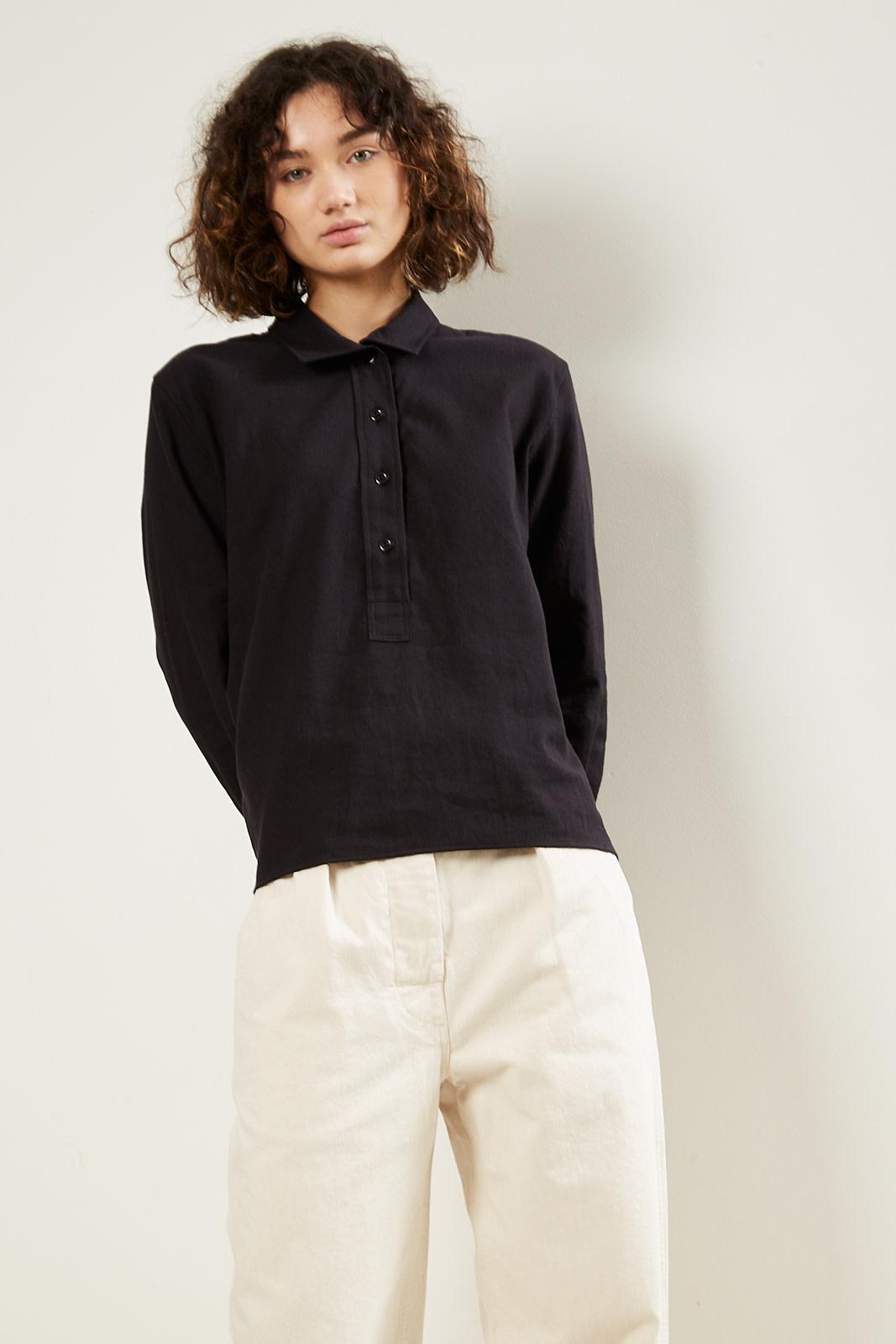 Margaret Howell MHL collared swing shirt