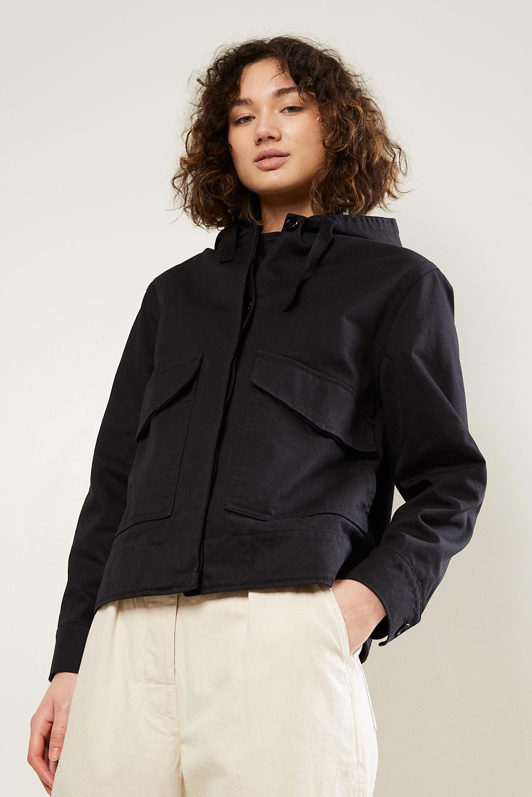 Margaret Howell - MHL cropped hooded jacket