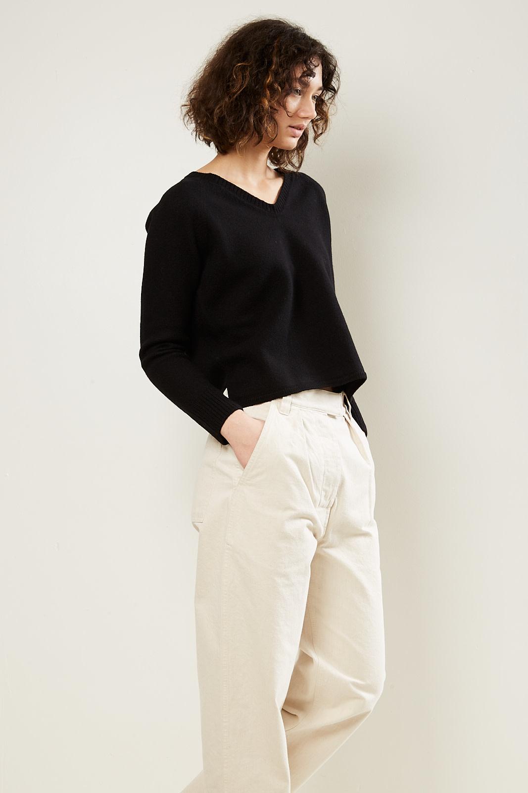 Margaret Howell - MHL felted v neck sweater