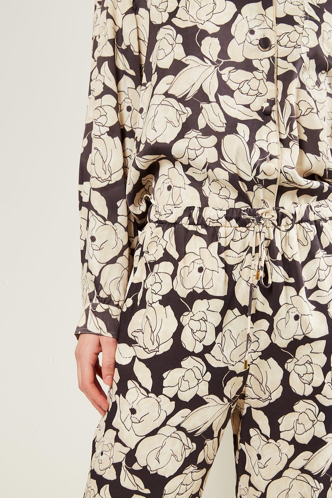 Nanushka - Tupsa printed slip satin pants