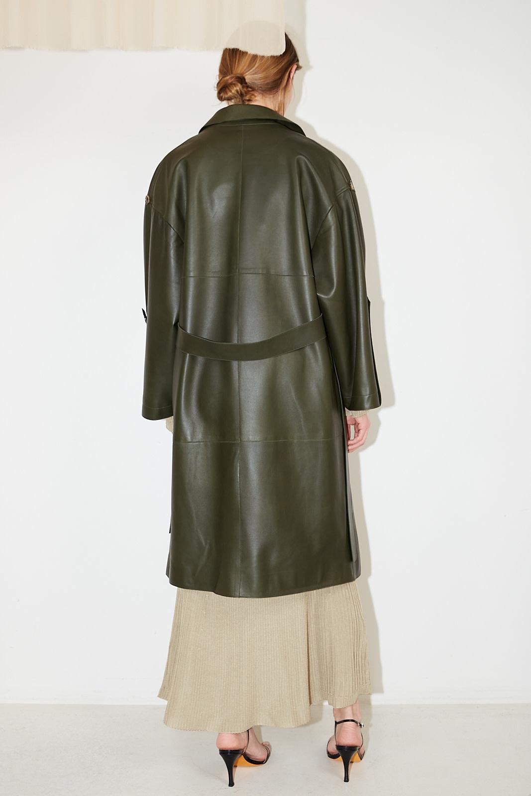 Aeron - Palla leather coat
