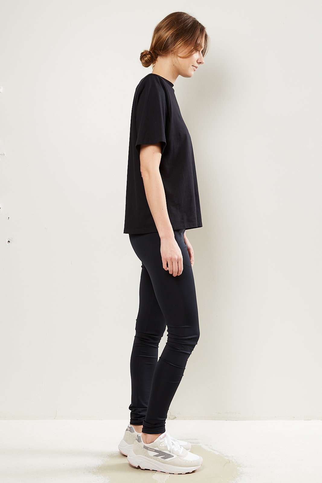 Monique van Heist - legging lycra vintage
