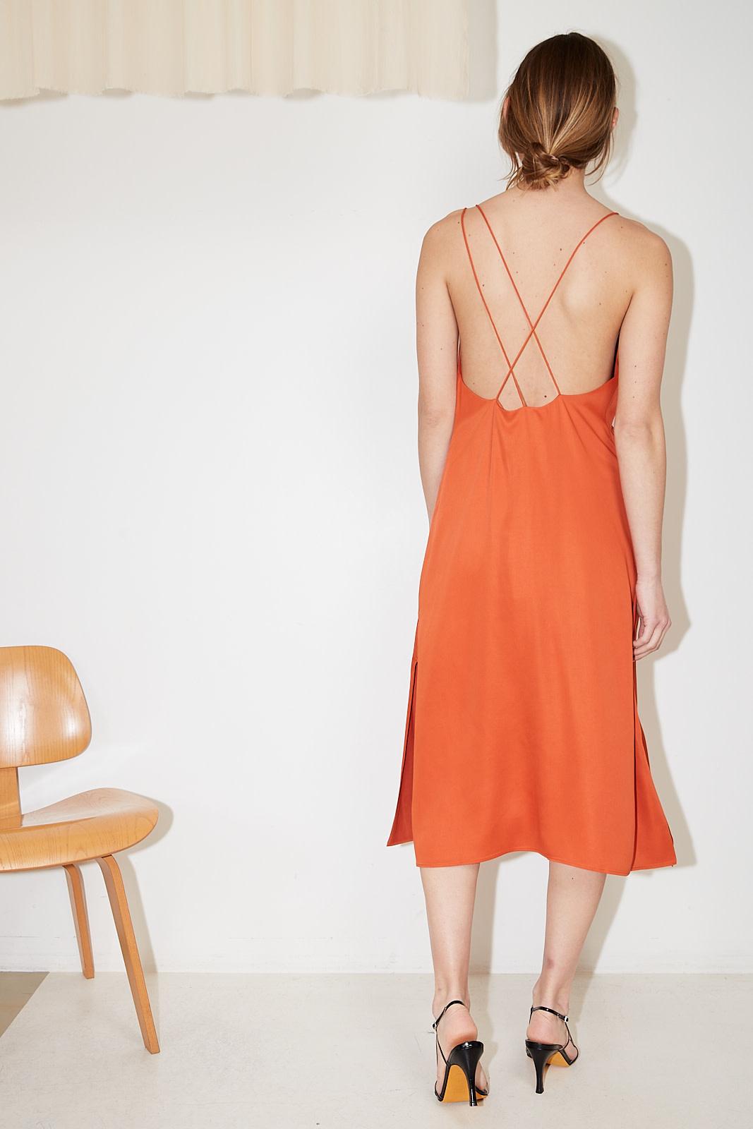 Aeron - Giselle recycled satin dress
