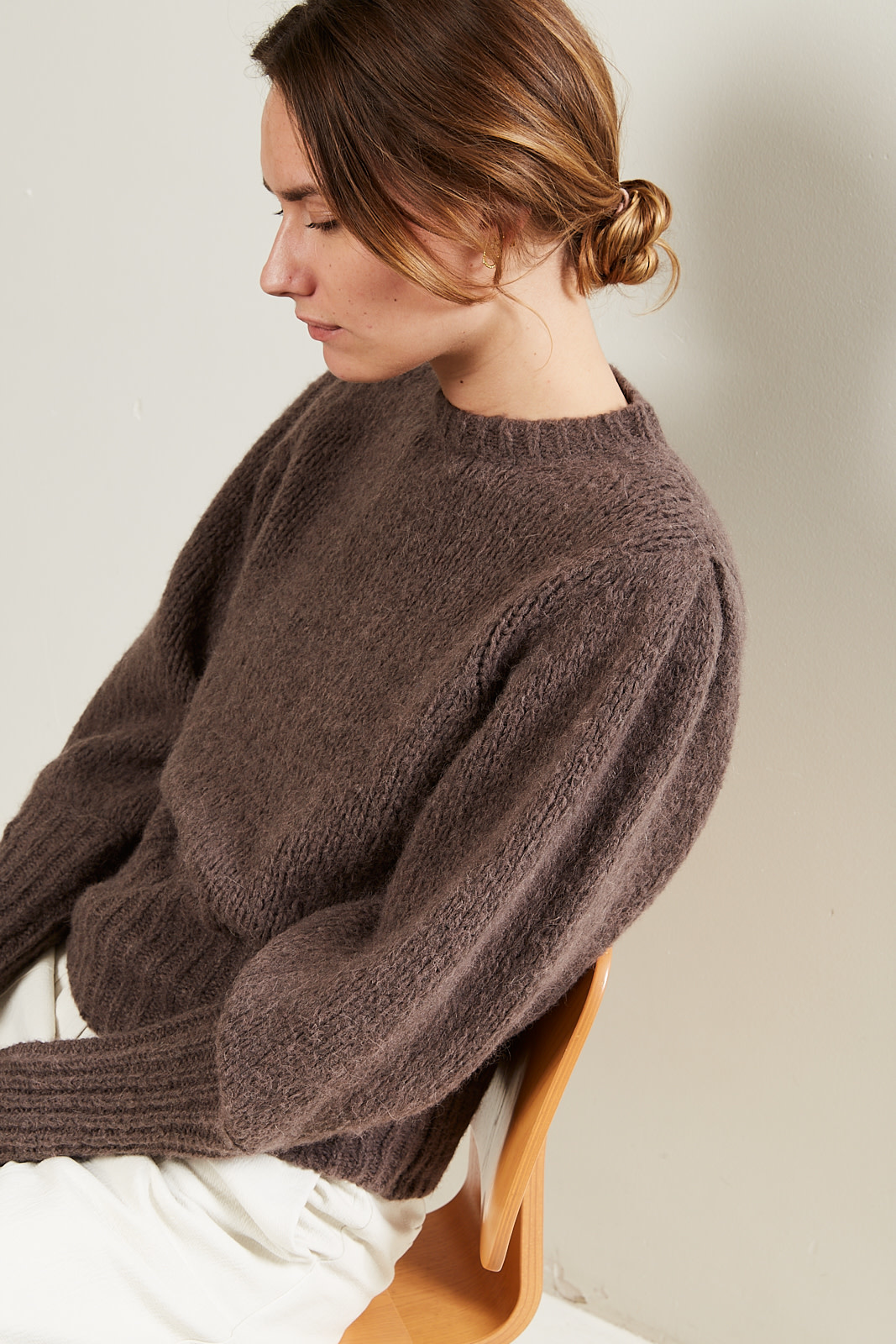 Les Coyotes de Paris - Mindy alpaca merino sweater