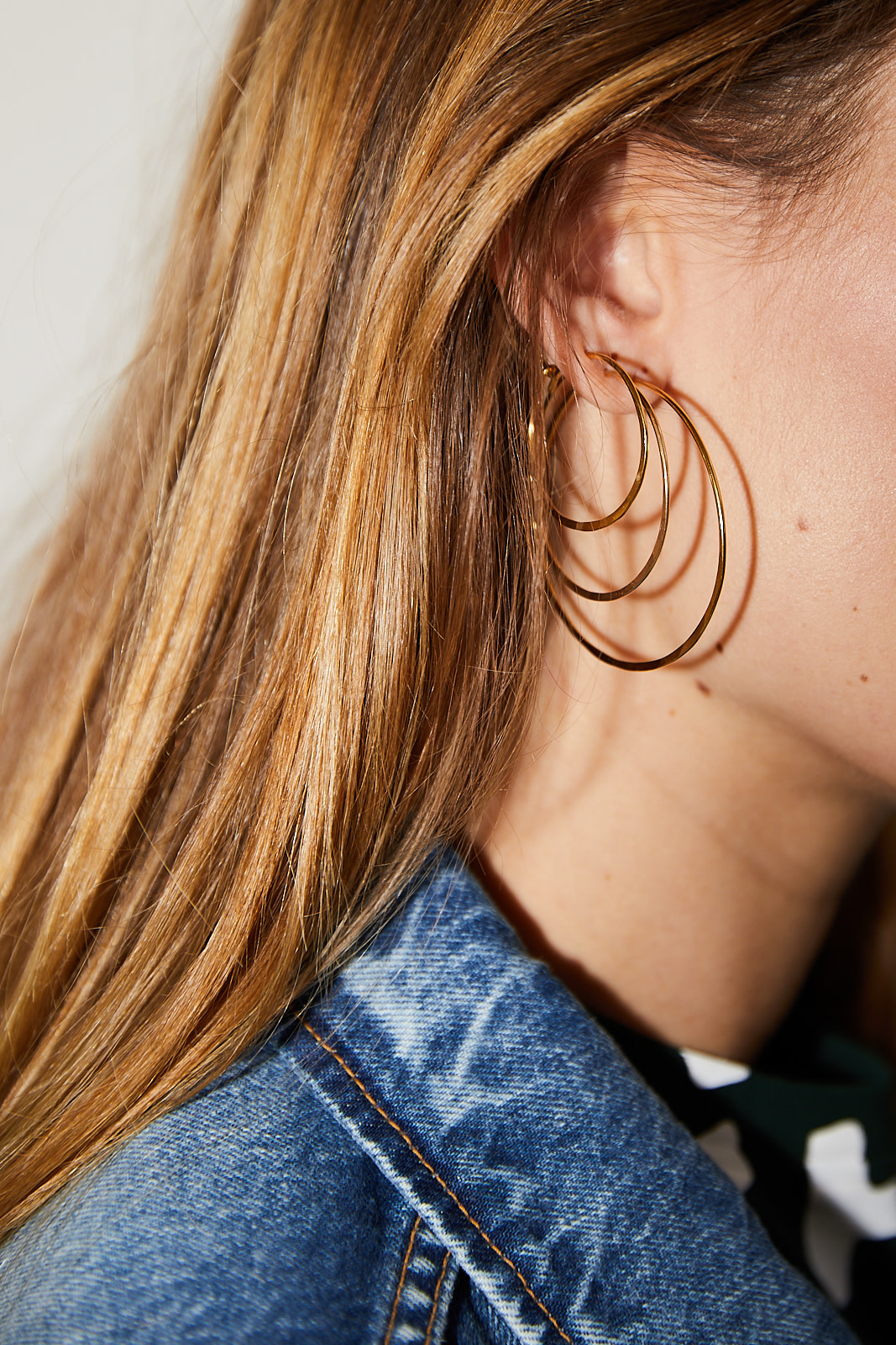 Martine Viergever LIfe earrings 40mm