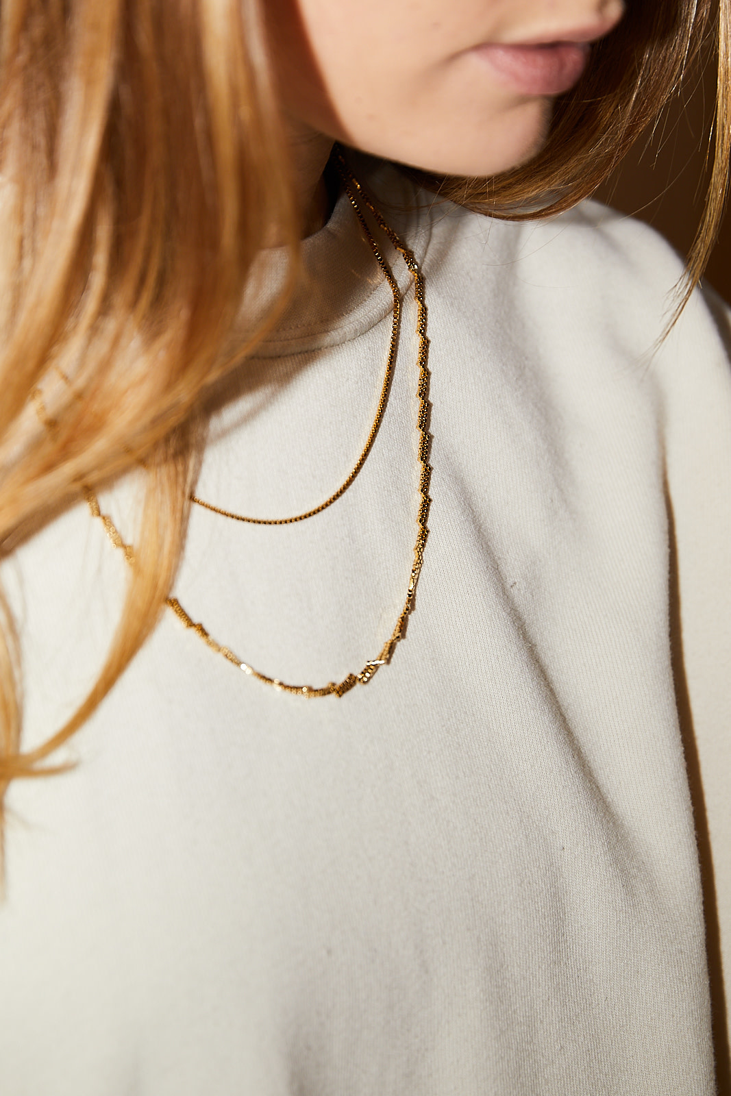 Martine Viergever Zigzag necklace