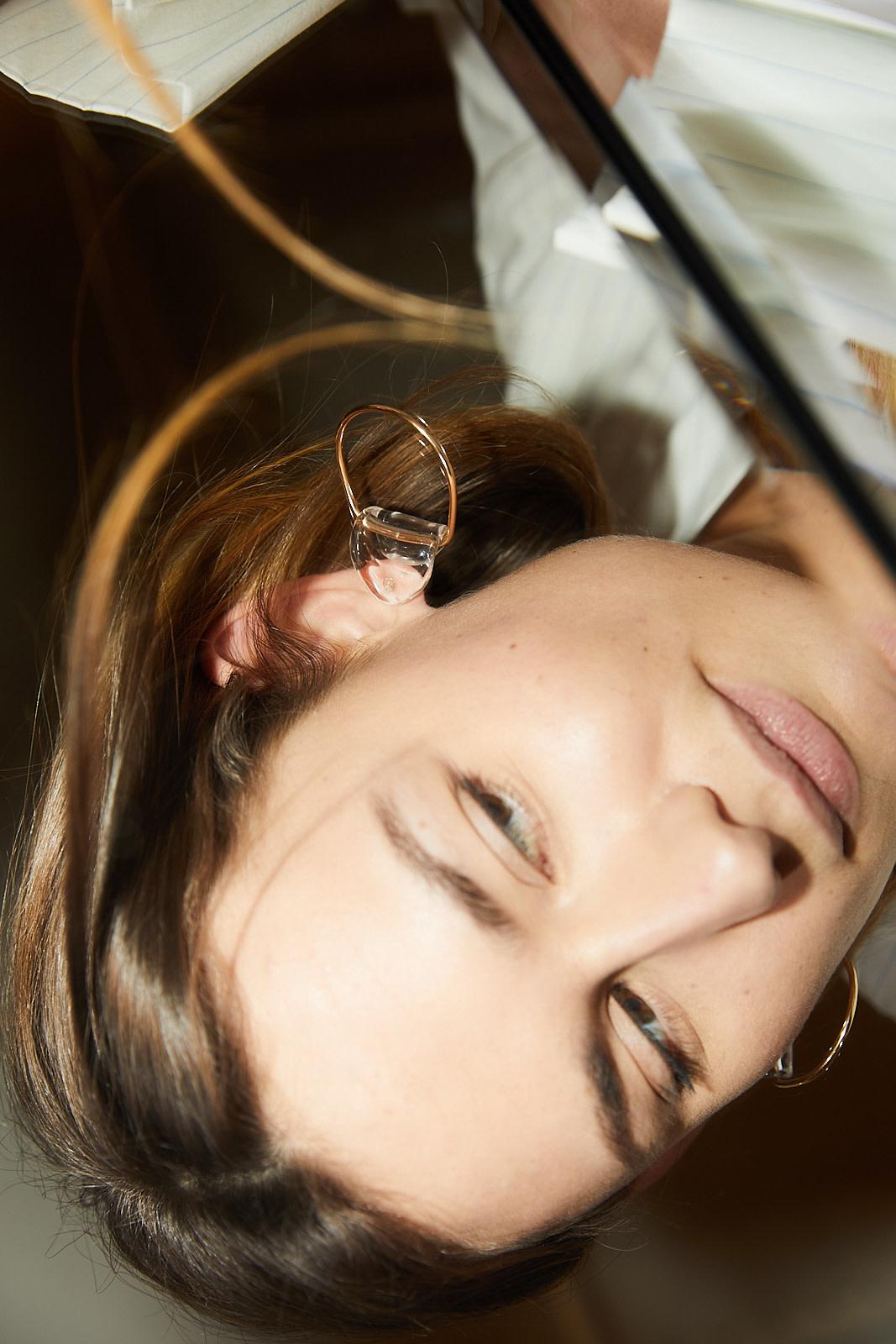 Annika Inez - SS-Gentle Fold Earrings