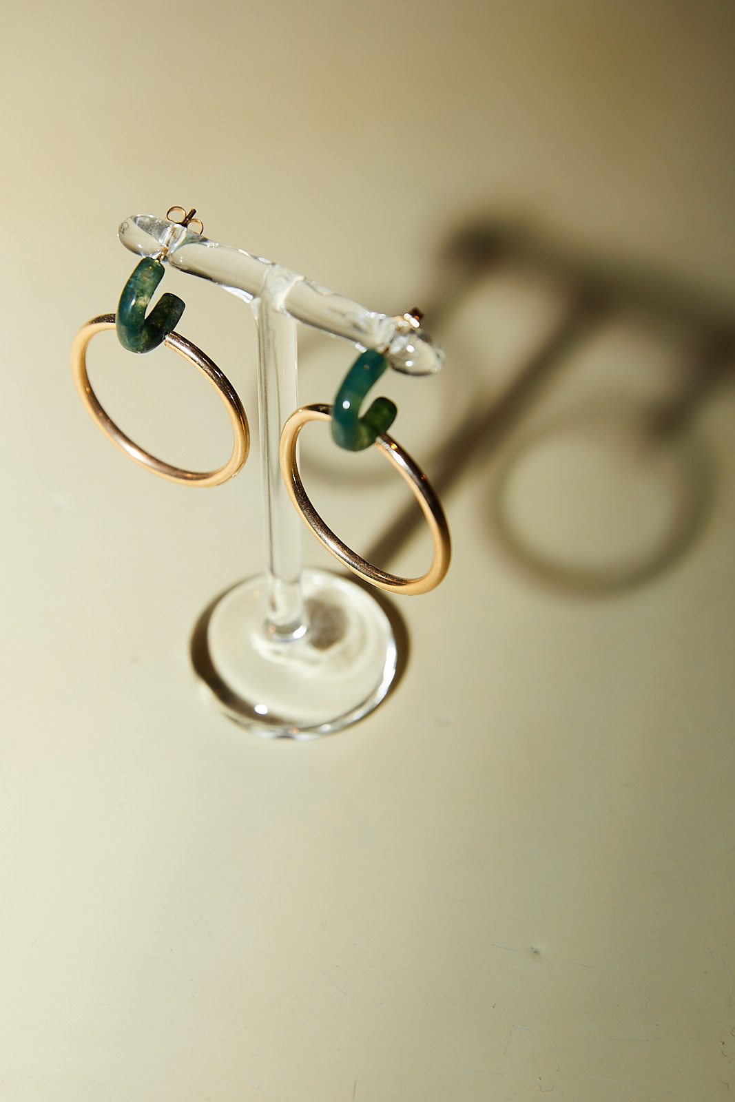 Annika Inez - GF gold earrings
