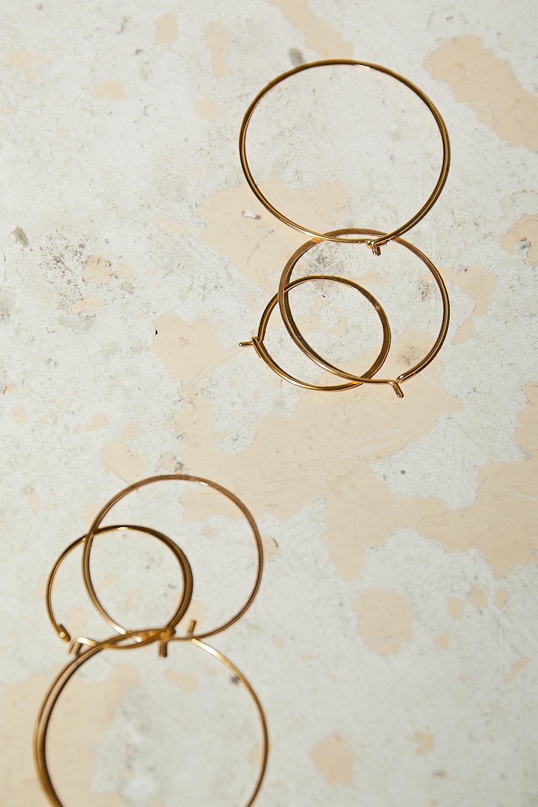 Martine Viergever - LIfe earrings 30mm