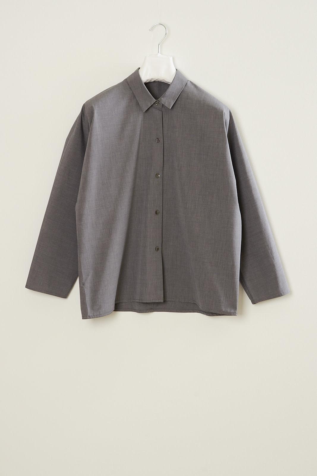 Sofie d'Hoore - Bird double twisted cotton shirt