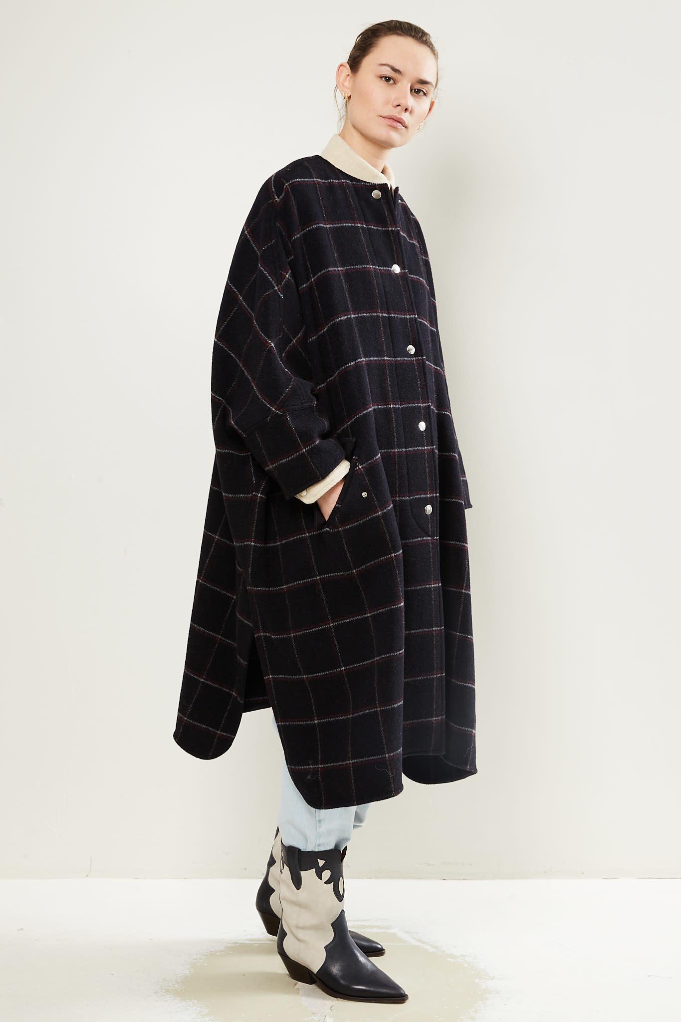 Etoile Isabel Marant - Fanny overboiled wool coat