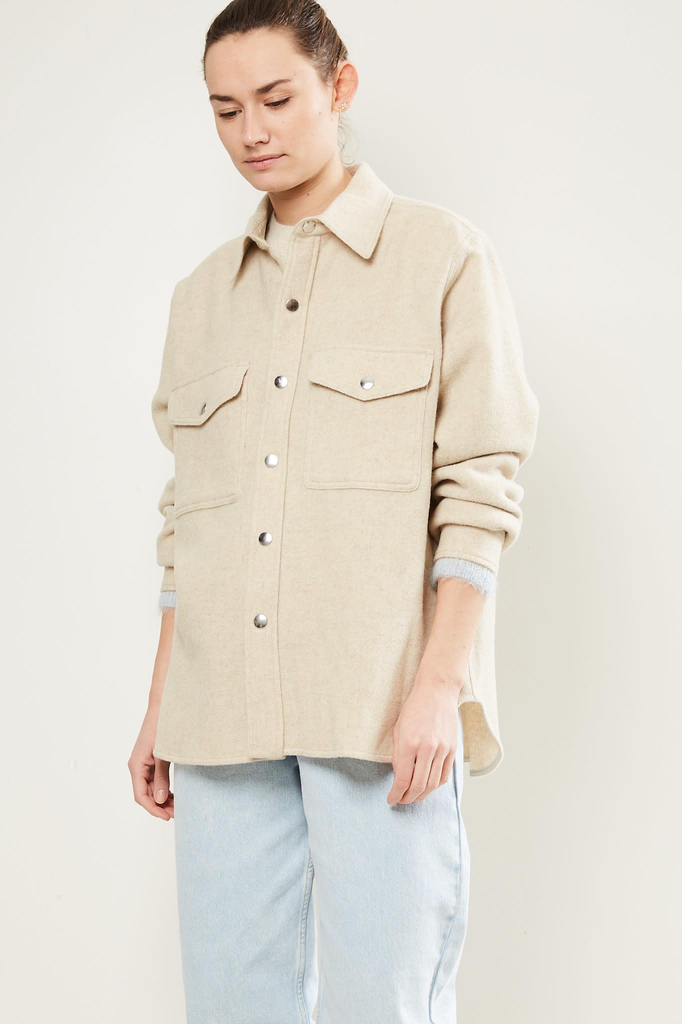 Etoile Isabel Marant - Faxon overboiled wool coat