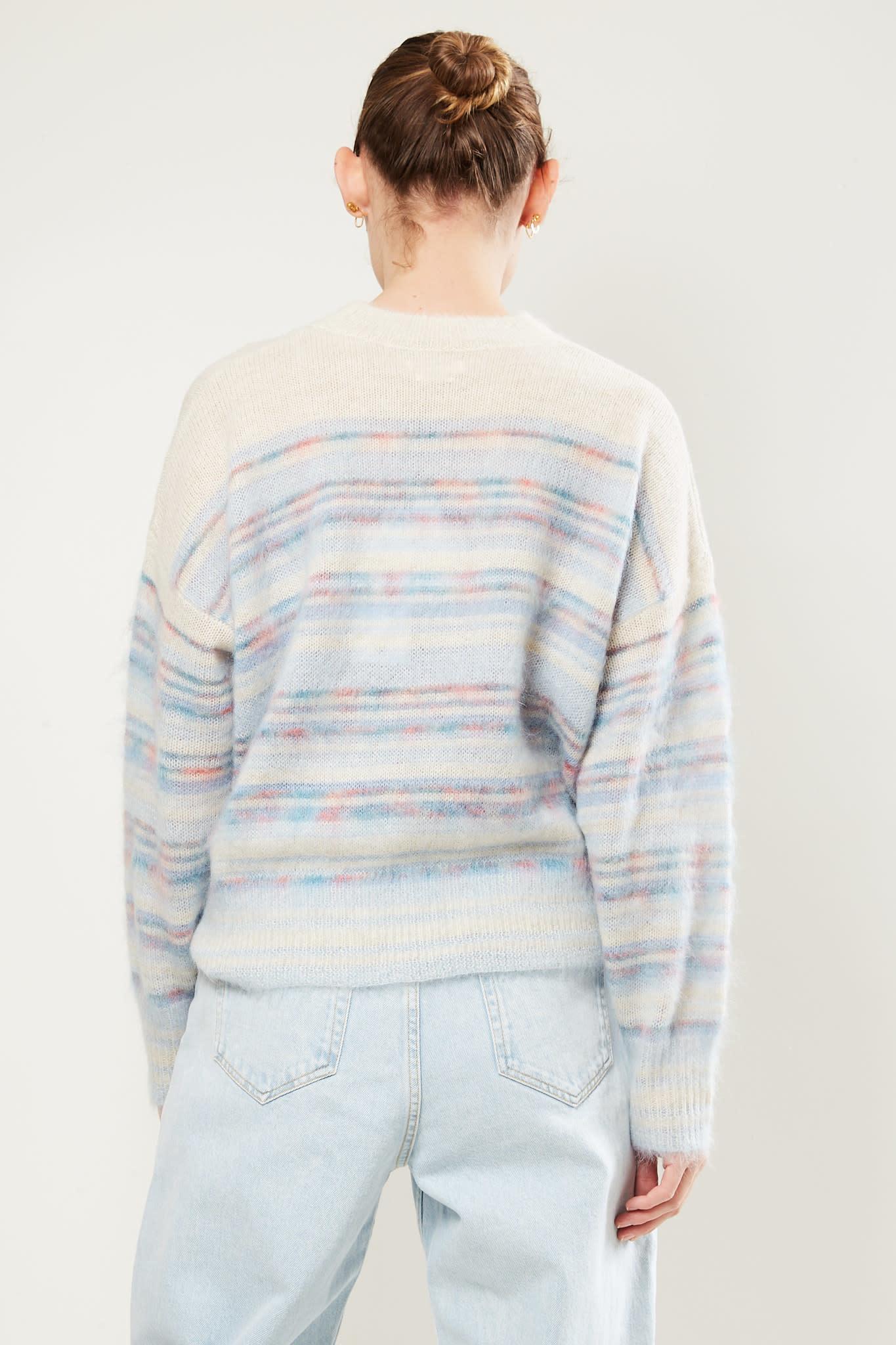 Etoile Isabel Marant - Gatliny printed mohair sweater