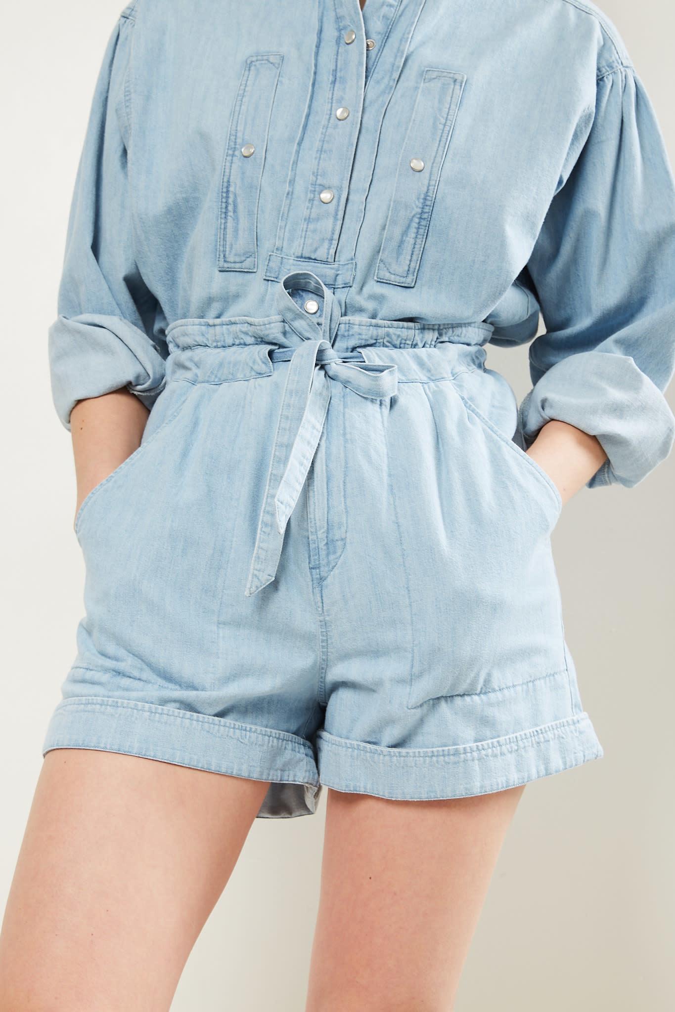 Etoile Isabel Marant Marius jeans short