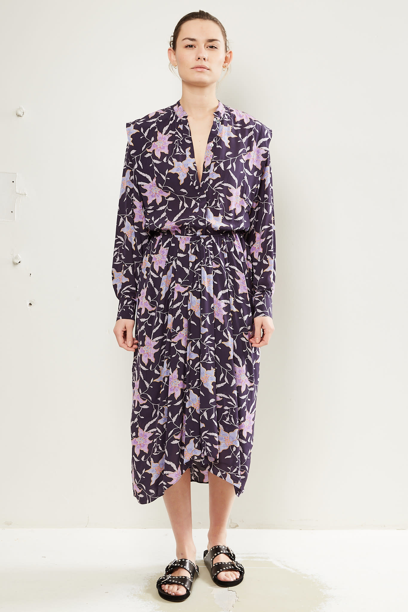 Etoile Isabel Marant - Okley printed city dress