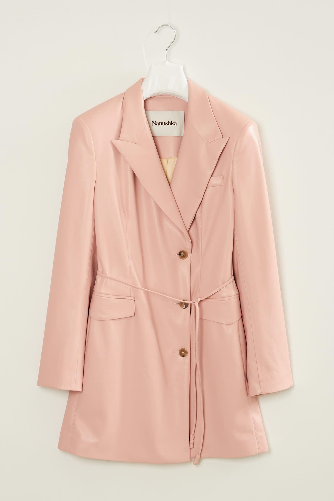 Nanushka Remy vegan leather jacket