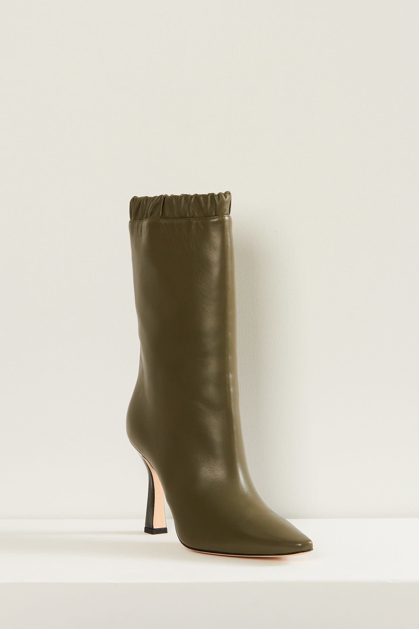 Wandler Lima slouch lambskin leather boots