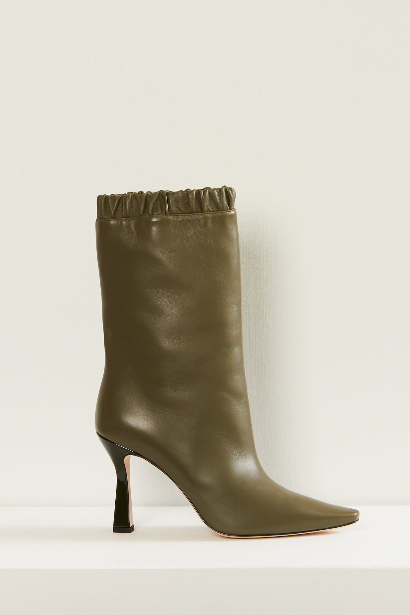 Wandler - Lima slouch lambskin leather boots