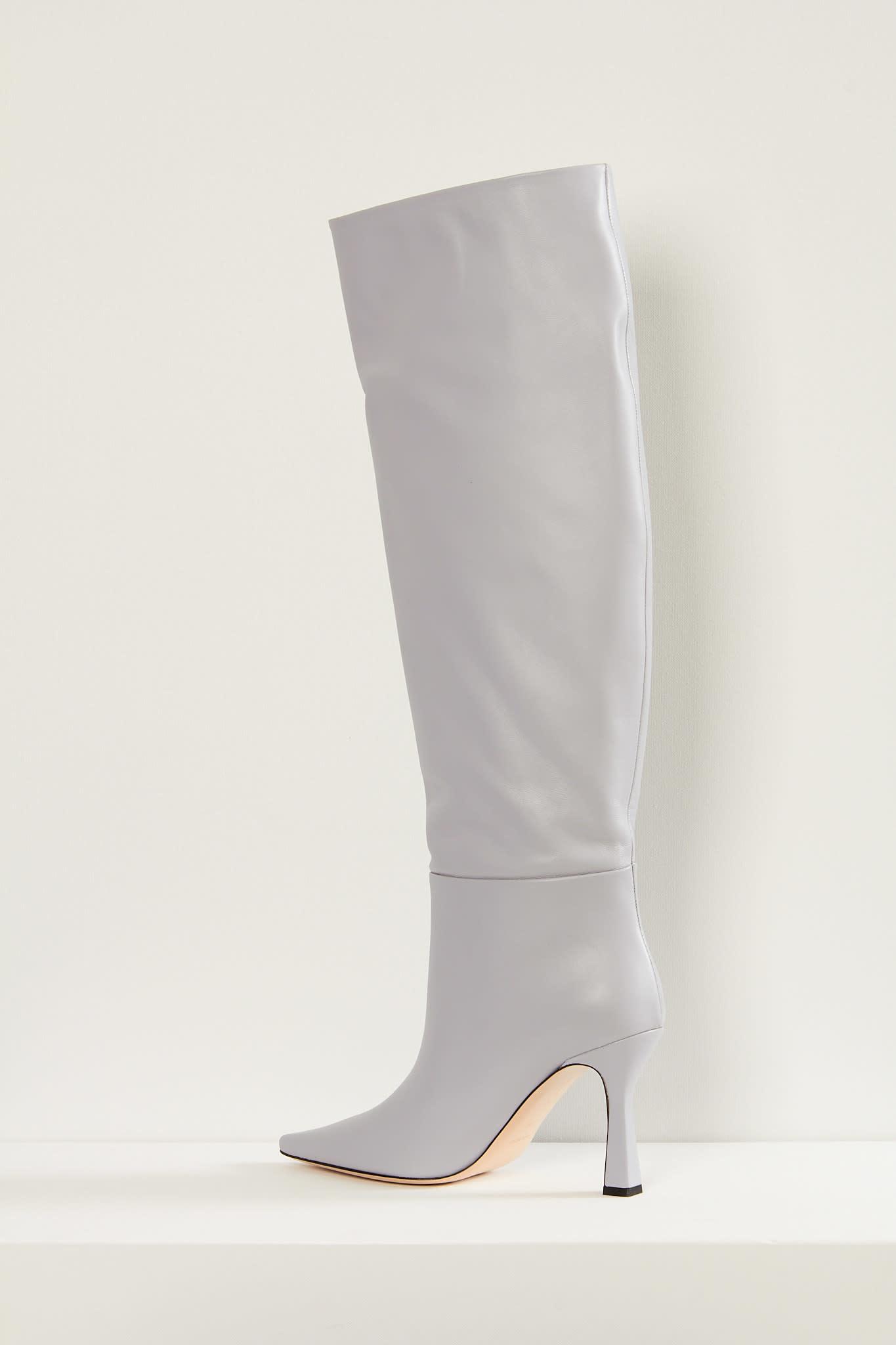 Wandler - Lina long lambskin leather boots