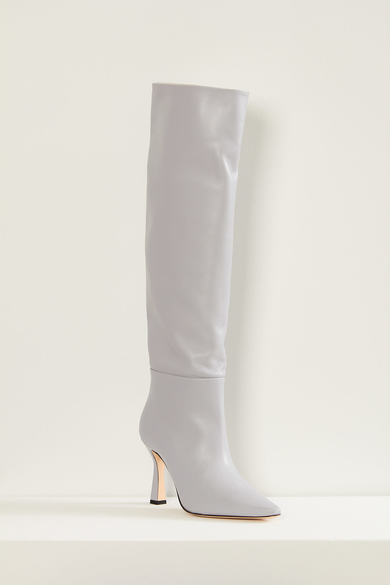 Wandler Lina long lambskin leather boots